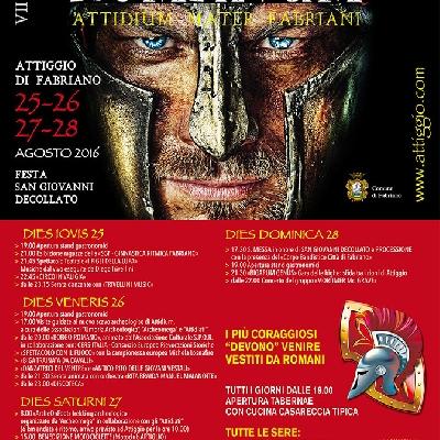 """7^ edizione """"Attidium romanum"""""""